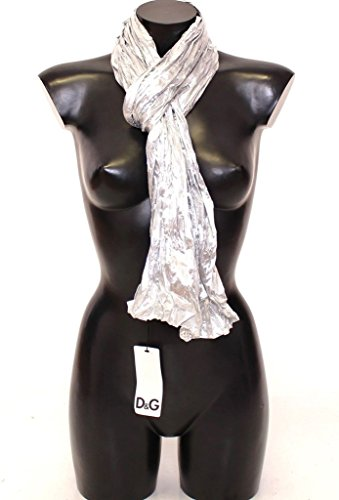 Dolce&Gabbana Silver Solid Polyester - For Sale Gabbana And Dolce