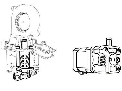 Velleman Deuxième Buse pour Vertex Imprimante 3D