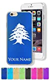 Case for iPhone 6/6s - Flag of Lebanon - Personalized Engraving Included