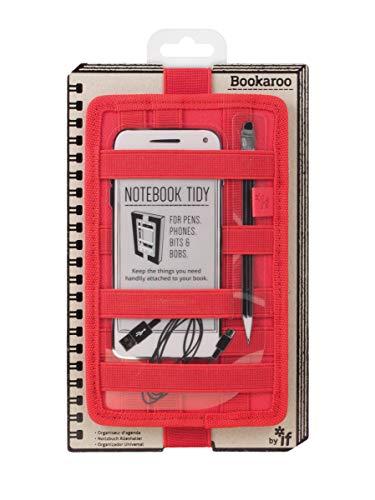 Bookaroo Notebook Tidy - Red