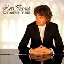 Love Divine: inspirador CD sagrado del pianista Mulder & London Symphony Orchestra (Como el ciervo, Quédate conmigo, Alcance Salvación, Sublime Gracia, Sanctus y otros).