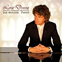 Love Divine: inspirational sacred album by pianist Mulder & London Symphony Orchestra (As the deer, Abide with me, It is well, Amazing Grace, Sanctus, and others).