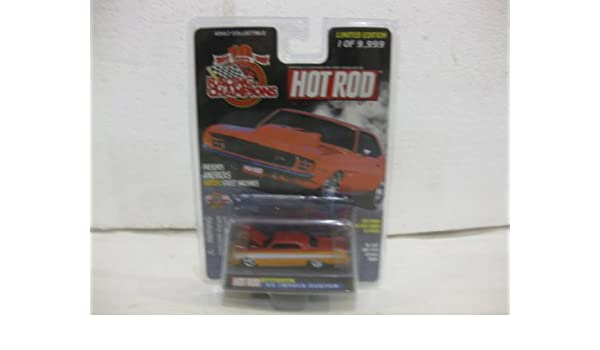 Amazon.com: 1964 Impala Custom Issue #145 In Orange Diecast 1:64 Scale Hot Rod Magazine By Racing Champions: Toys & Games