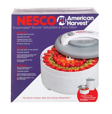 (Nesco FD-61 Snackmaster Encore Four Tray Food Dehydrator)
