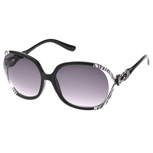 SWG EYEWEAR® Celebrity P1863 Black Quality Sunglasses UV400 Lens Light Weight frame Purple Black Gradient Lens for - Italian Vintage Sunglasses