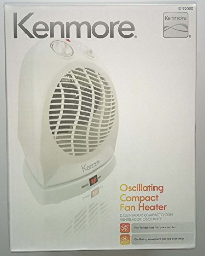 Kenmore Oscillating Compact Fan Heater