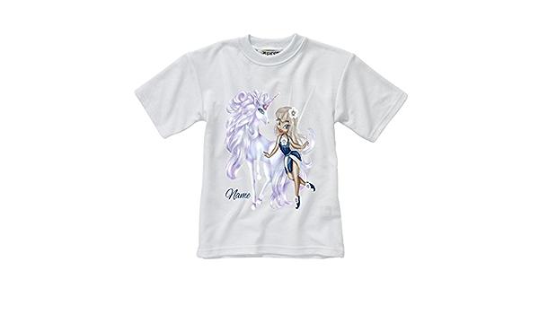 Personalizada para niños de color blanco camiseta de manga ...