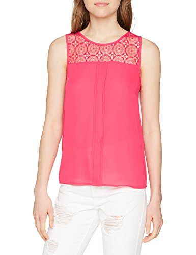 Vestaglia Lace Top L ONLY Wvn Donna NOS Red S Onlvenice Rosso Rose Noos 8wIIH4xA