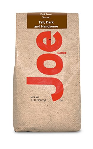 (Joe Knows Coffee Tall and Handsome Dark Roast Ground Coffee, 2 Pound)