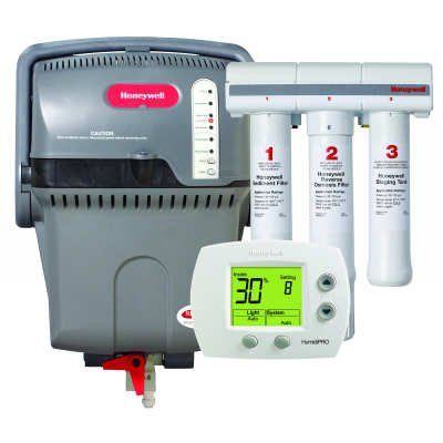 Honeywell TrueSTEAM Humidification System with HumidiPRO and RO Filter Kit - Color - H6062A1000/U YHM506-c2