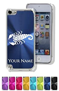 iPod 5 Case/Cover - SCORPION / INSECT / ANIMAL - Personalized for FREE (Click the CONTACT SELLER button after purchase and send a message with your case color and engraving request)
