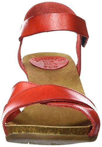 Mujer rojo Jonny's Nayeli Rojo Sandalias xPwqTEA