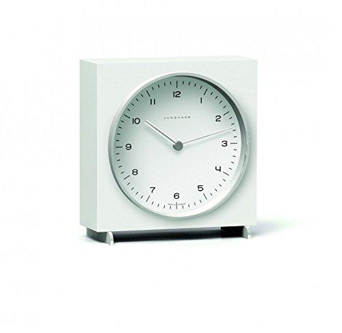 Junghans Max Bill Quartz Table Clock | White 363/2210.00