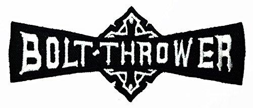 Bolt Thrower Punk Rock Heavy Metal Music logo Patch Sew Iron on Logo Embroidered Badge Sign Emblem Costume BY Dreamhigh_skyland (Hip Hop Bolt)