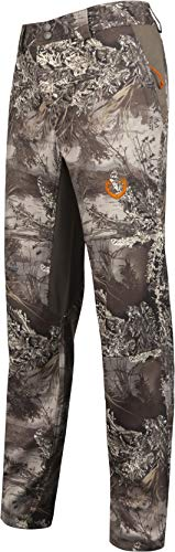 HUNTSHIELD Men's Lightweight Hybrid Hunting Pants | Realtree MAX-1 XT Camo | Water Resistant | - Camo Cloth Realtree