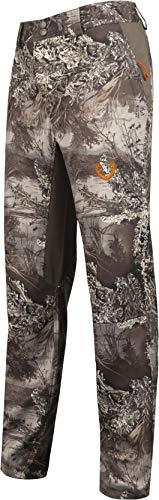HUNTSHIELD Men's Lightweight Hybrid Hunting Pants | Realtree MAX-1 XT Camo | Water Resistant | X-Large (Best Waterproof Hunting Pants)