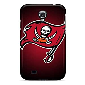Protector Hard Cell-phone Case For Samsung Galaxy S4 (nFF9935dzJU) Provide Private Custom Stylish Tampa Bay Buccaneers Pictures