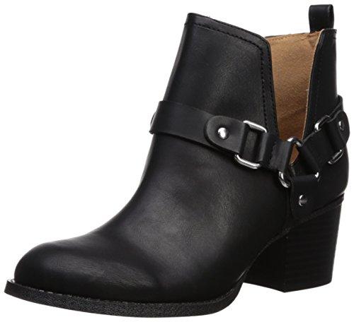 Madden Girl Women's Finian Ankle Boot, Black Paris, 7.5 M (Womens Rocker Boots)
