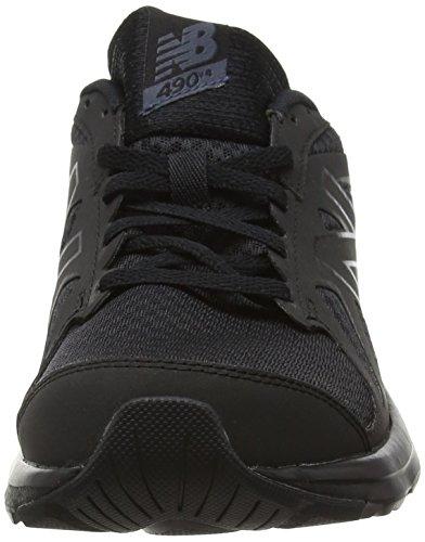 New Balance M490ck4-490, Zapatillas de Running para Hombre Negro (Black/Black 911)