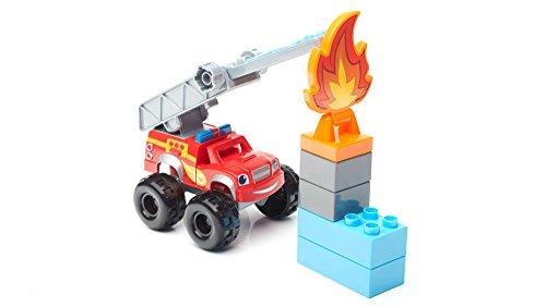 Mega Bloks Blaze Monster Truck Monster Machines Firefighter Blaze Vehicle