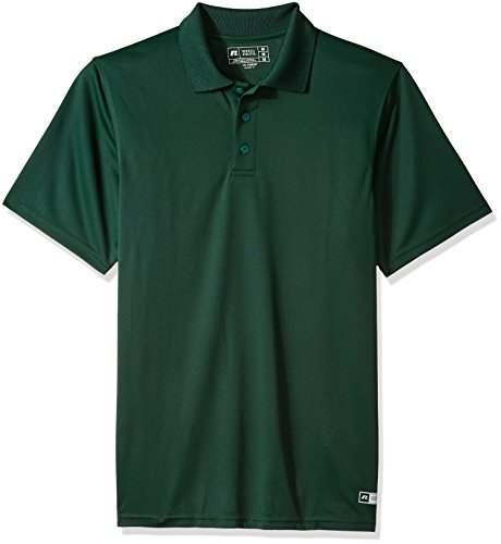 Russell Athletic Men's Dri-Power Performance Golf Polo Cleaning Shirt
