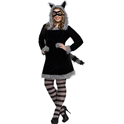 Fun World Racy Raccoon Costume