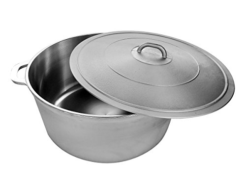 Uniware Uniware 9900-55U 9900-55 Super Quality Aluminum Caldero 72 quart Silver price tips cheap