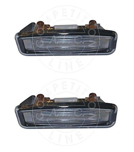 SET! 2 x Kennzeichenbeleuchtung Nummernschildbeleuchtung Kennzeichenleuchte Kennzeichen Leuchte KOMPLETT mit Schrauben Glühlampe und Dichtung passend für FORD FOCUS (DAW, DBW) BJ: 10.1998 - 11.2004 / FORD FOCUS Stufenheck (DFW) BJ: 02.1999- 03.2005 / FORD FOCUS Kombi (DNW) BJ: 02.1999 - 03.2005