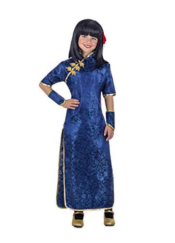 Banyant Toys Disfraz China Azul Qi-pao 3-4 años