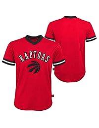 Toronto Raptors Youth Fashion V-Neck Jersey Top