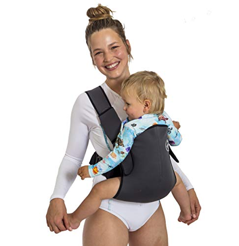 (Frog Orange Wetsuit Baby Carrier (Carbon Grey))