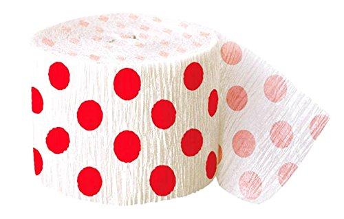 [Single Pack] Crepe Paper Streamer Roll