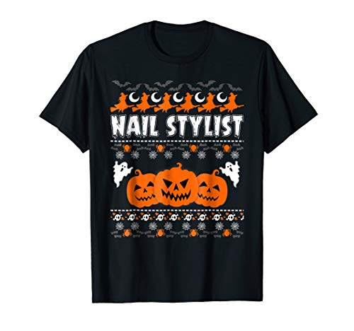 Nail Stylist Ugly Halloween Costume T Shirt Funny/Scary Shir -