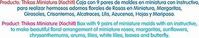 MOLDES PARA FLORES DE TERMOFORMADO THIKAS XOCHITL 9 MOLDES: Amazon.es: Hogar