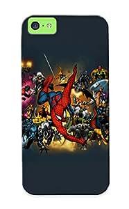 Tpu Shockproof/dirt-proof Dc Poiler Marvel Vengadore X Men 4 F Piderman Daredevil Cover Case For Iphone(5c)