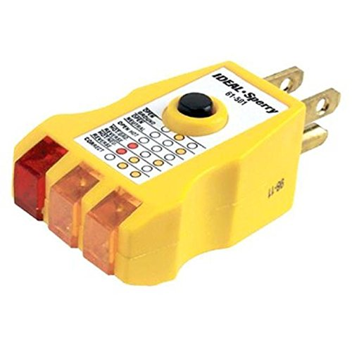 (Ship from USA) Ideal Industries 131-61-501 Gfci Circuit Tester /ITEM NO#E8FH...