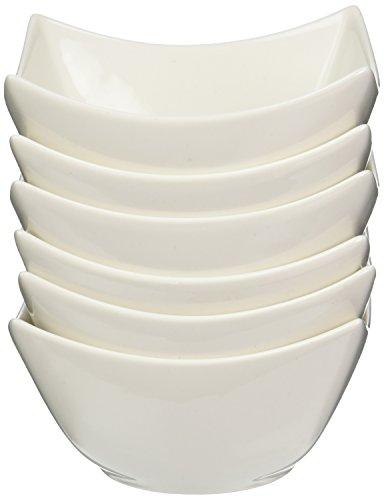 5 Inch Bowl - Maxwell and Williams Basics Lotus Bowl, 5-Inch, White