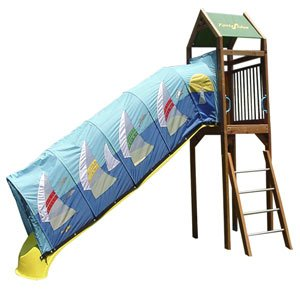 Amazon Com Fantaslides Swing Set Sloopy 10 Ft Slide Cover Toys