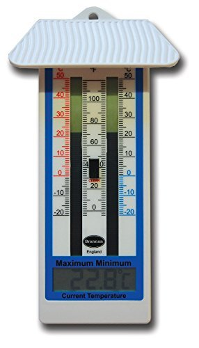 Which is the best greenhouse thermometer min max?
