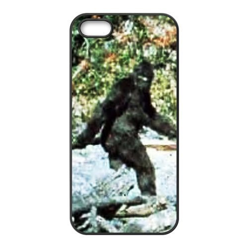 Durable Platic Case Cover for iPhone 5/5S-Bigfoot Pattern Printed Cell Phones Shell (Bigfoot Mobile compare prices)