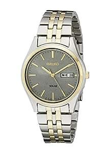 Seiko Men's SNE042 Stainless Steel Solar Watch