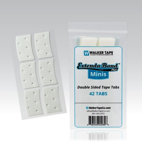 Hair System Tape (NEW Walker Extenda-Bond Plus Minis Double Sided Tape Tabs)
