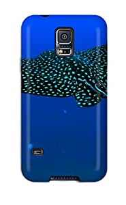 Hot LbHeoDd3766bHPWF Case Cover Protector For Galaxy S5- Manta Ray