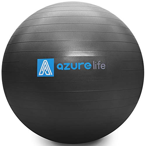 AZURELIFE Professional Grade Exercise Ball