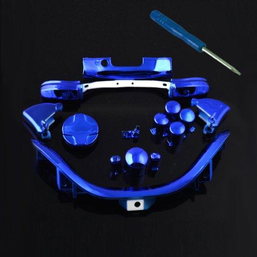 xbox 360 controller parts blue - 2
