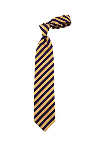 Robert-Jensen-Finest-Silk-Handmade-Mens-Neck-Tie-Mogador-Satin-Two-Bar-Stripe