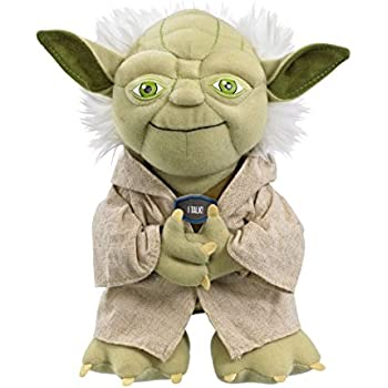 "Star Wars Plush - Stuffed Talking 9"" Yoda Character Plush Toy"