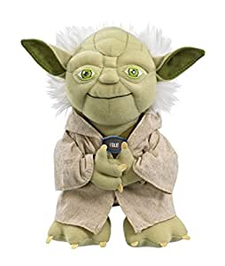 "Star Wars Plush - Stuffed Talking 9"" Yoda Character Plush Toy"