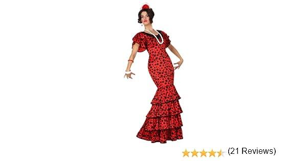 Atosa-15587 Disfraz Flamenca, color rojo, XS-S (15587): Amazon.es ...
