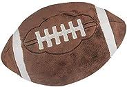 Catchstar Football Pillow Fluffy Plush Football Pillows Soft Stuffed Football Plush Pillow Durable Sports Foot